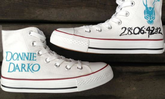 Donnie Darko Shoes Custom Hand Painted Shoes-2