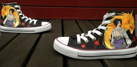 Anime Shoes Naruto Shoes Custom Hand Painted Shoes-2