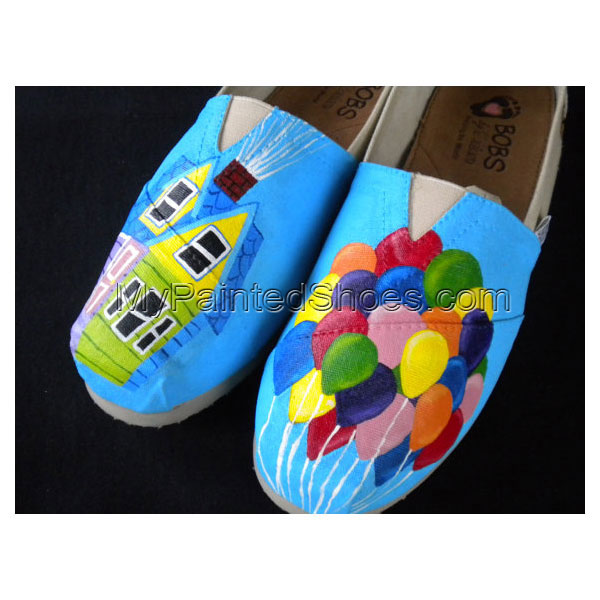 Up Custom Up Hand Painted Shoes