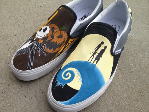 Nightmare Before Christmas Shoes custom Nightmare Before Christm-2
