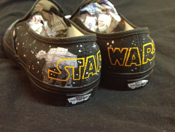 Star War Shoes Custom Star War Hand Painted Shoes-3