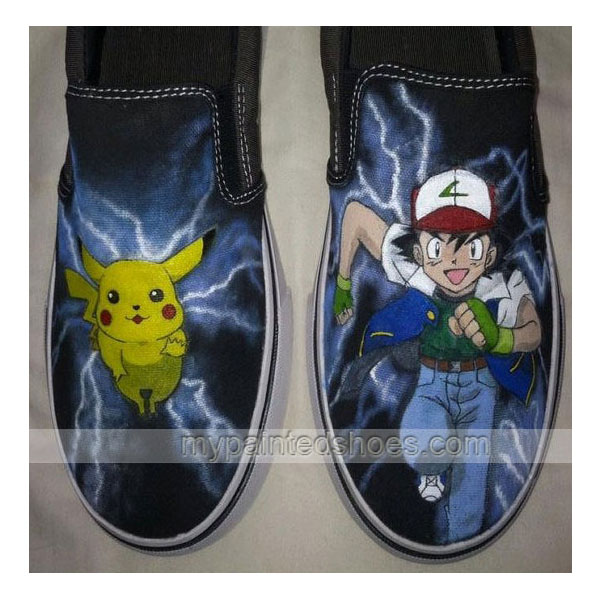 Pokemon Custom Pokemon Hand Painted Shoes