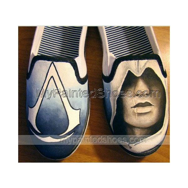 Assassin's Creed Shoes Assassin's Creed Hand Painted Shoes