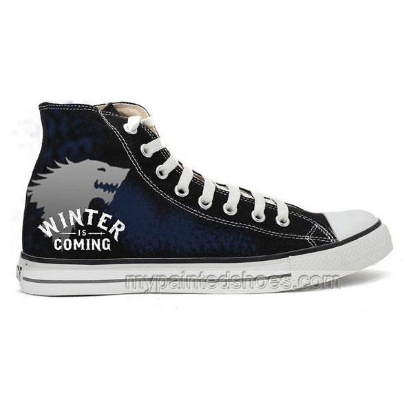 Game Of Thrones Hand-Painted Shoes