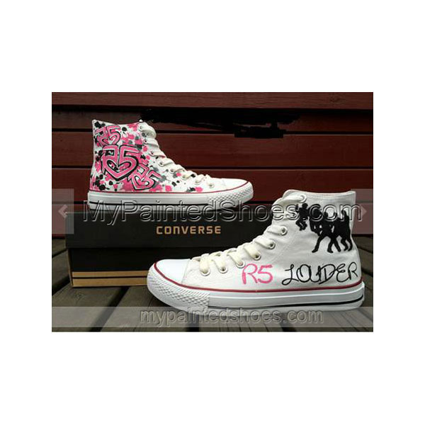 R5 shoes R5 Hand Painted Shoes