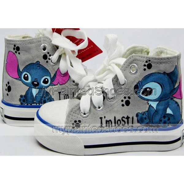 stitch shoes lilo and stitch shoes anime stitch shoes hand paint