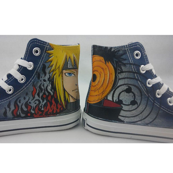 naruto shoes custom naruto shoes anime hand painted shoes-1