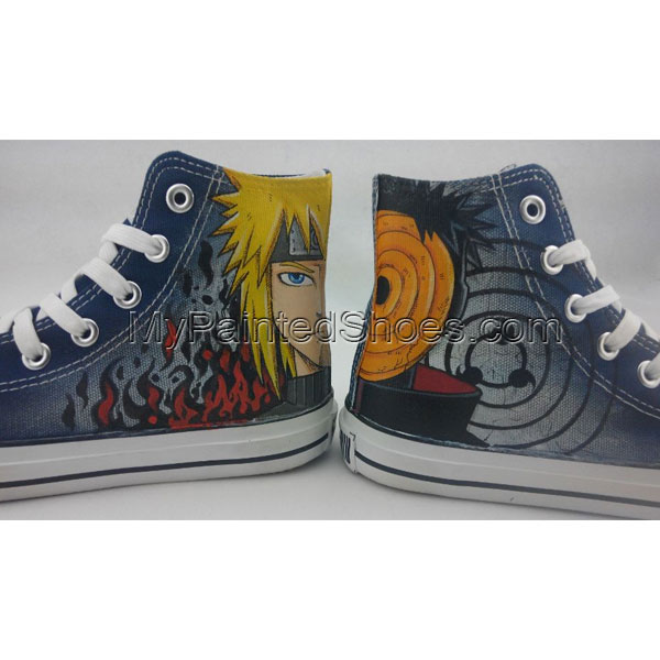 naruto shoes custom naruto shoes anime hand painted shoes