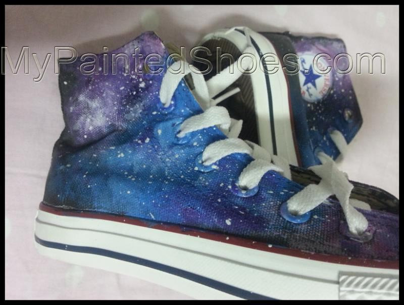 galaxy chucks galaxy shoes galaxy high tops galaxy shoes for wom-2