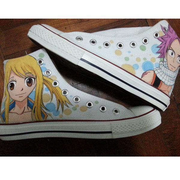 fairy tail shoes fairy tail natsu shoes fairy tail custom anime -1