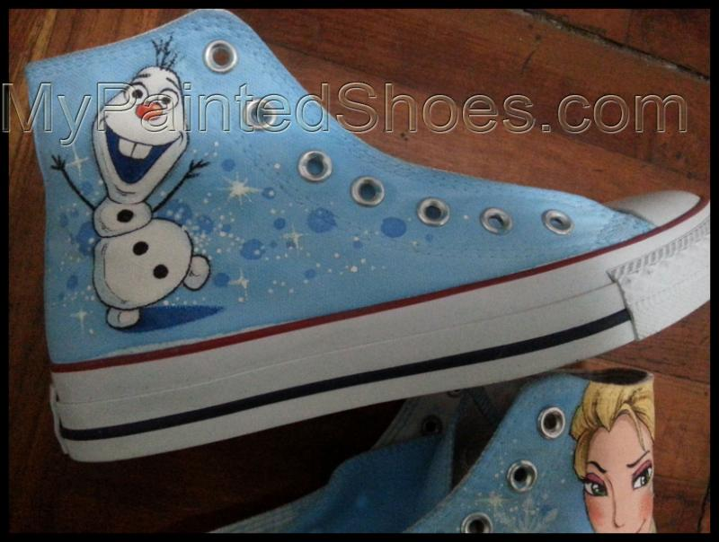 frozen shoes disney frozen canvas trainers frozen disney sneaker-2