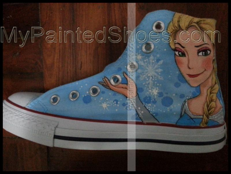 frozen shoes disney frozen canvas trainers frozen disney sneaker-3