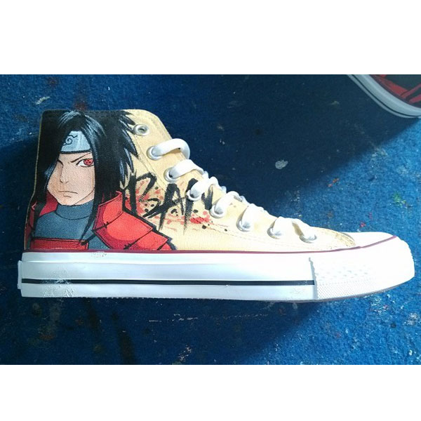 naruto shoes custom painted naruto shoes painted shoes