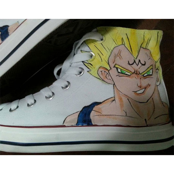 custom painted dragon ball z shoes dragon ball z painted shoes