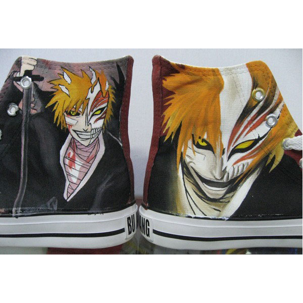 bleach custom sneakers bleach high top shoes anime-2