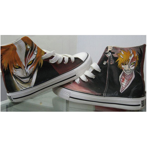 bleach custom sneakers bleach high top shoes anime