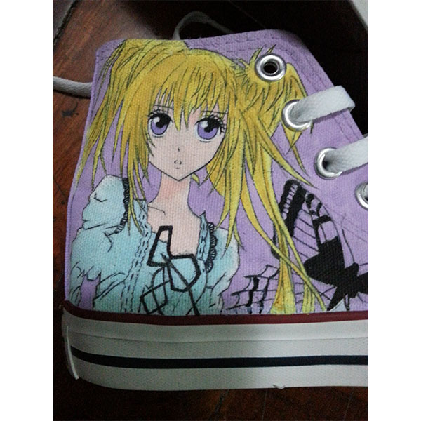 Custom Shugo Chara! anime Shoes Shugo Chara hand painted shoes-3
