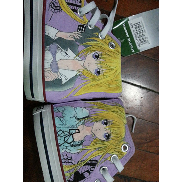 Custom Shugo Chara! anime Shoes Shugo Chara hand painted shoes