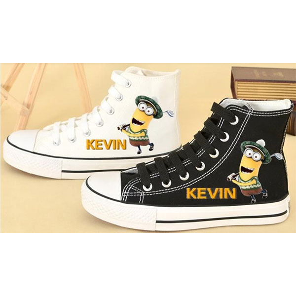 Despicable me minion shoes for sale minion high tops-1
