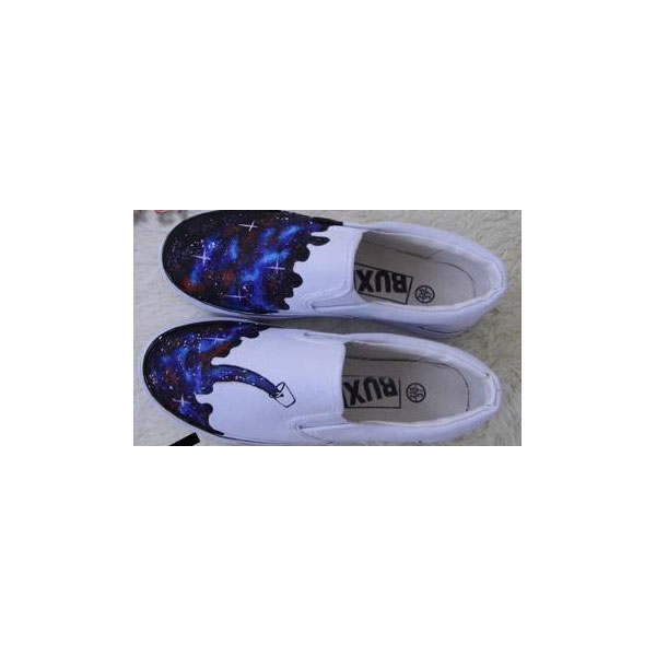 galaxy slip on shoes custom galaxy shoes-2