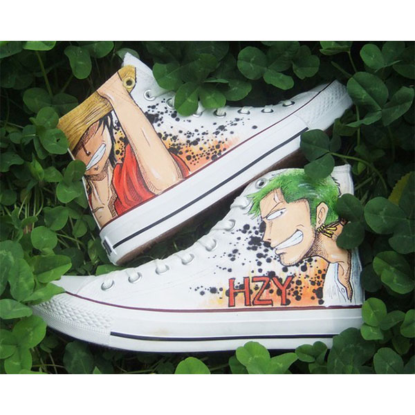 one piece shoes one piece anime high tops for sale-1
