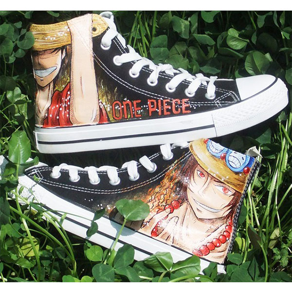 one piece shoes one piece anime high tops for sale-2