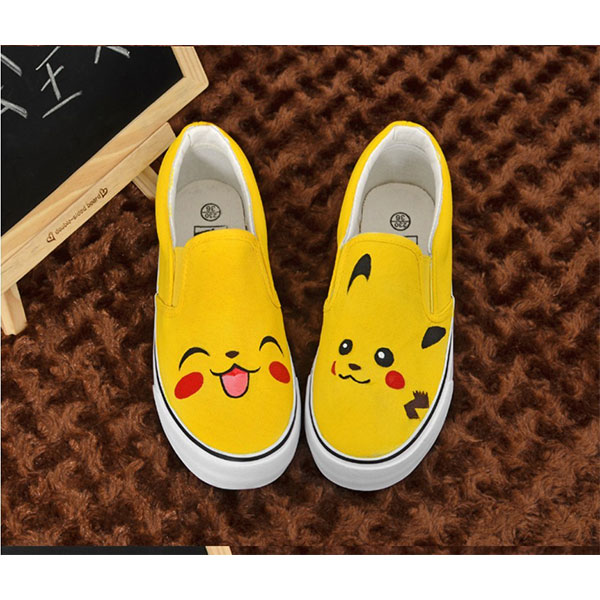 anime shoes pokemon trainer shoes anime painted shoes painted sh