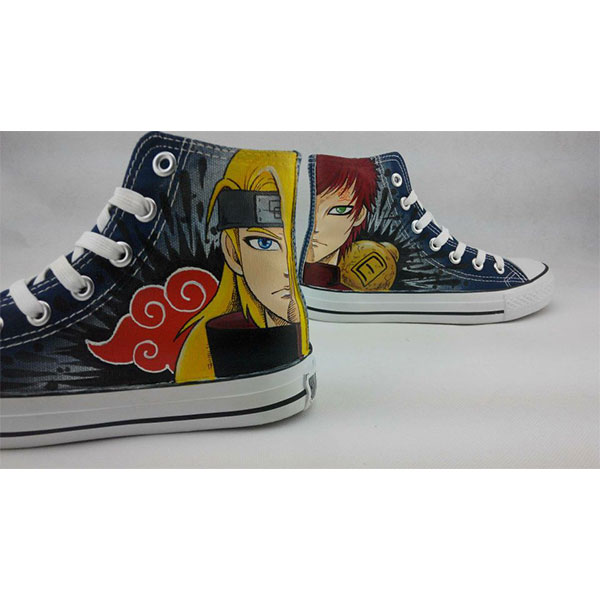 Naruto Anime Shoes Custom Naruto Painted High-top Hand Painted-3