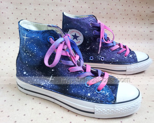 custom galaxy shoes hand painted galaxy shoes-1