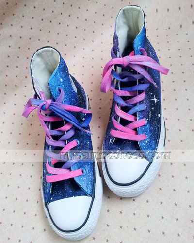 custom galaxy shoes hand painted galaxy shoes-2
