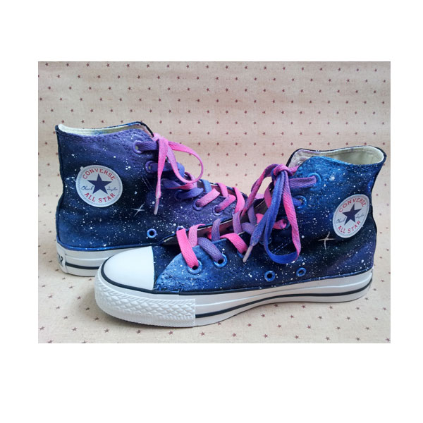 custom galaxy shoes hand painted galaxy shoes