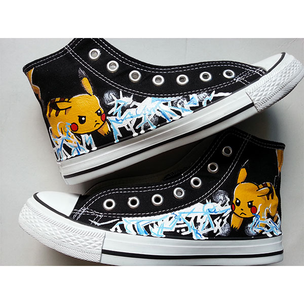 custom pokemon shoes pokemon anime hand painted shoes