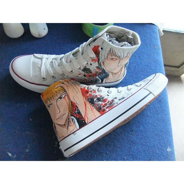 bleach anime shoes custom bleach shoes anime shoes