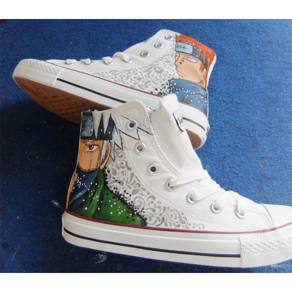 Naruto Anime Shoes Hand Painted Shoes
