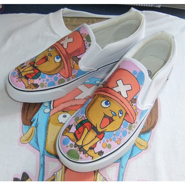 one piece anime shoes custom chopper anime shoes-1
