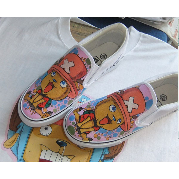 one piece anime shoes custom chopper anime shoes