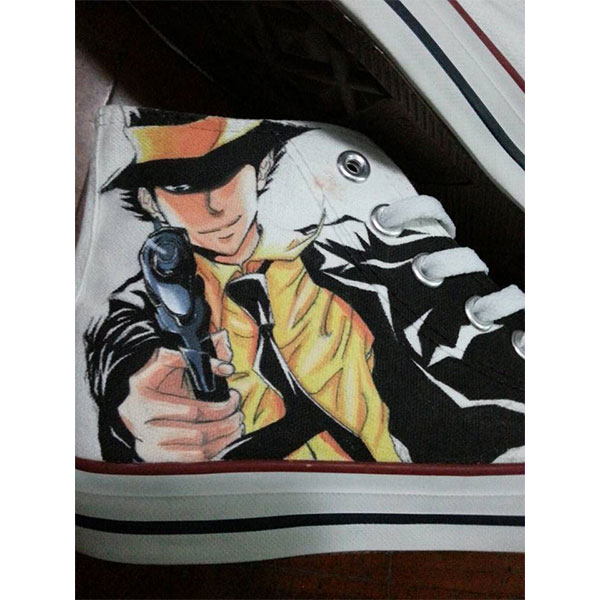 Hitman Reborn Anime Shoes Hitman Reborn High Top Shoes Hitman Re-2