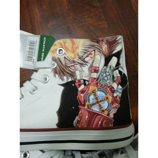 Hitman Reborn Anime Shoes Hitman Reborn High Top Shoes Hitman Re-3