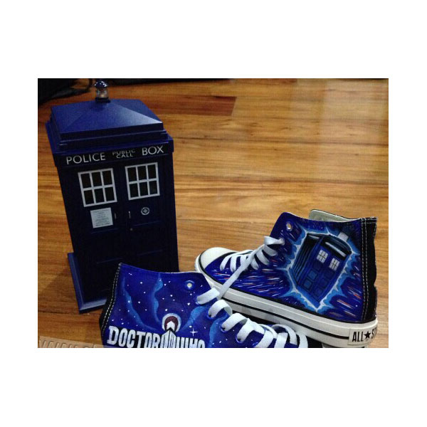 doctor who shoes doctor who inspired shoes doctor who cartoon pa-1