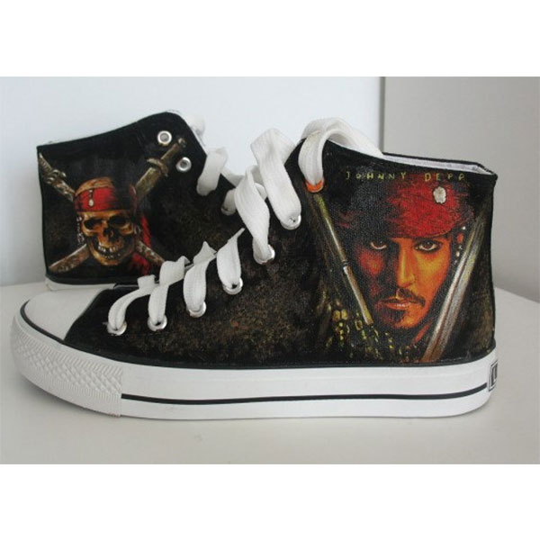 custom pirates of carribean shoes