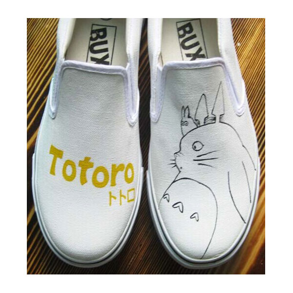 Totoro Anime Shoes My Neighbor Totoro Painted Anime Shoes