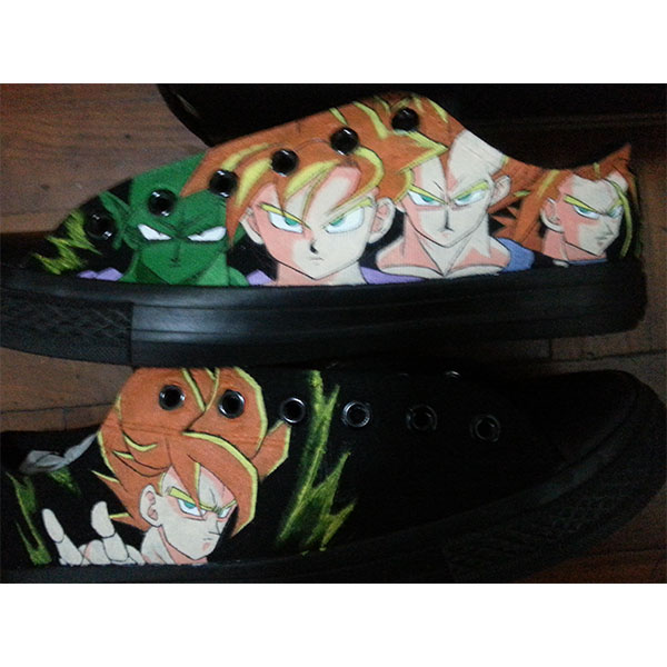 dragon ball z shoes custom dragon ball z anime shoes-1