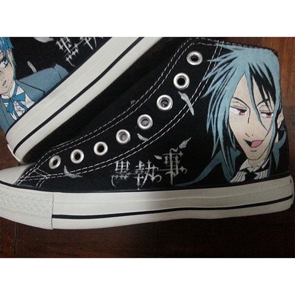 black butler costume shoes black butler anime shoes-3