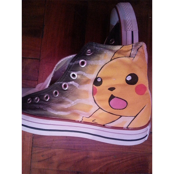 pokemon anime shoes handpainted pokemon shoes-1