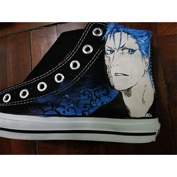 bleach hand painted shoes anime bleach shoes-1