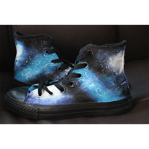 galaxy shoes men/women custom galaxy shoes