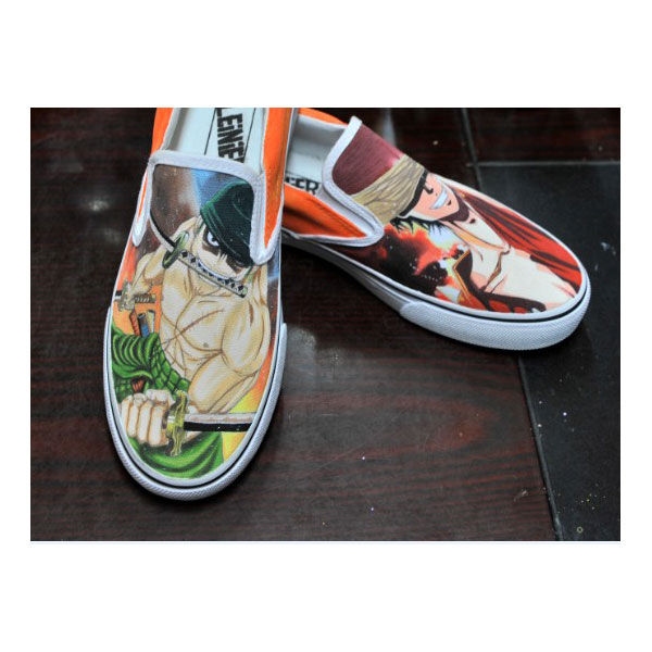 one piece zoro/luffy anime shoes custom one piece anime shoes-2