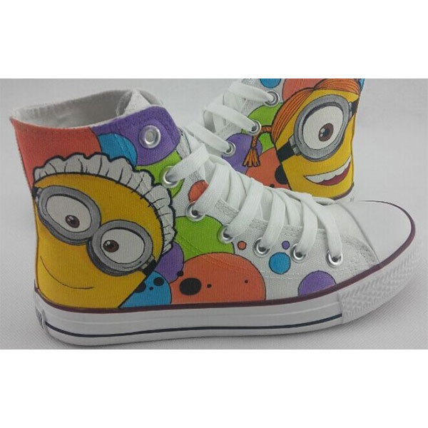 Custom minions Painted Shoes Canvas Shoes