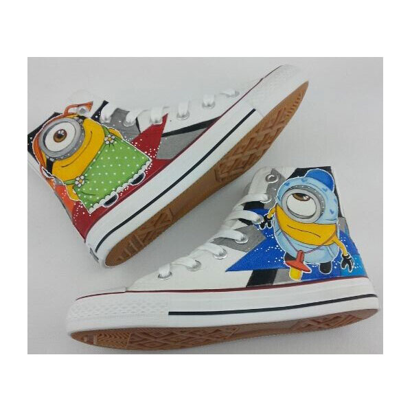 Despicable Minions Custom Shoes Custom minions Painted Shoes Can
