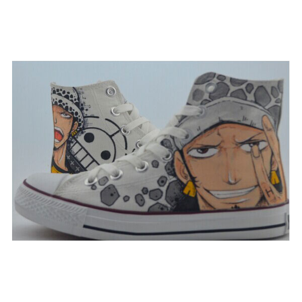 Painted Custom Shoes One Piece Custom Painted Shoes Canvas Shoes